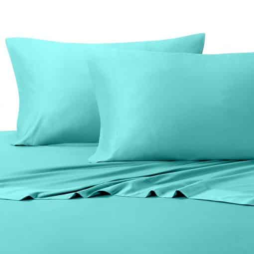 Aqua-600 Thread Count 100% Bamboo Viscose Sheet Set by Abripedic