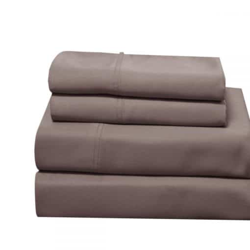 Desert-Taupe - 100% Bamboo Viscose Sheet Set 600 Thread Count Collection by Abripedic